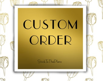 Custom Order July monthly