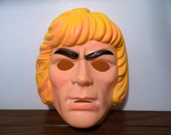 1983 He-Man Masters Of The Universe Ben Cooper Halloween Mask