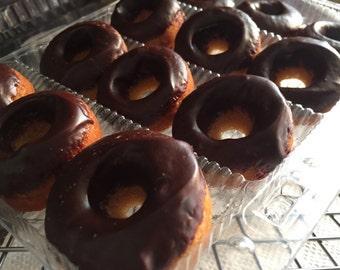 Organic Gluten Free Paleo mini Donuts Organic