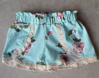 Femme Floral Coachella Shorts for Baby, Toddler & Girls