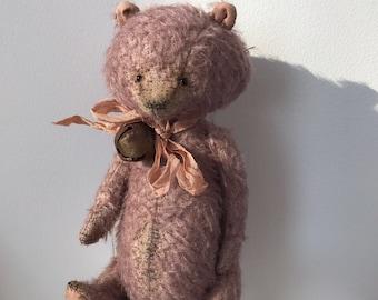 Teddy bear Leo ooak mohair bear