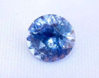 Ceylon Natural Blue Sapphire Round Cut  6mm - Loose Sapphire