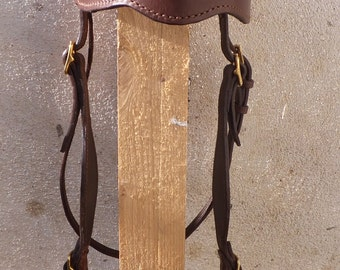 NET Brown horse leather