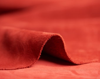 "Suede Lux Leather 8""x8"" 20x20 cm leather piece 