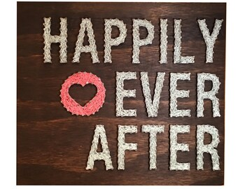 String Art- Happily Ever After