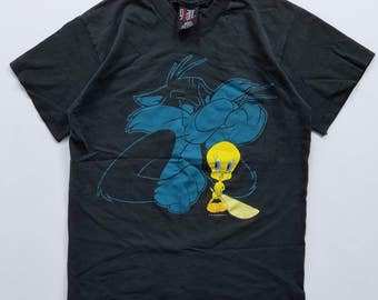 The Sylvester & Tweety Show T-Shirt Size L