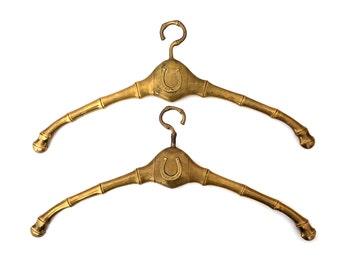 Unique Hangers brass clothes hanger | etsy