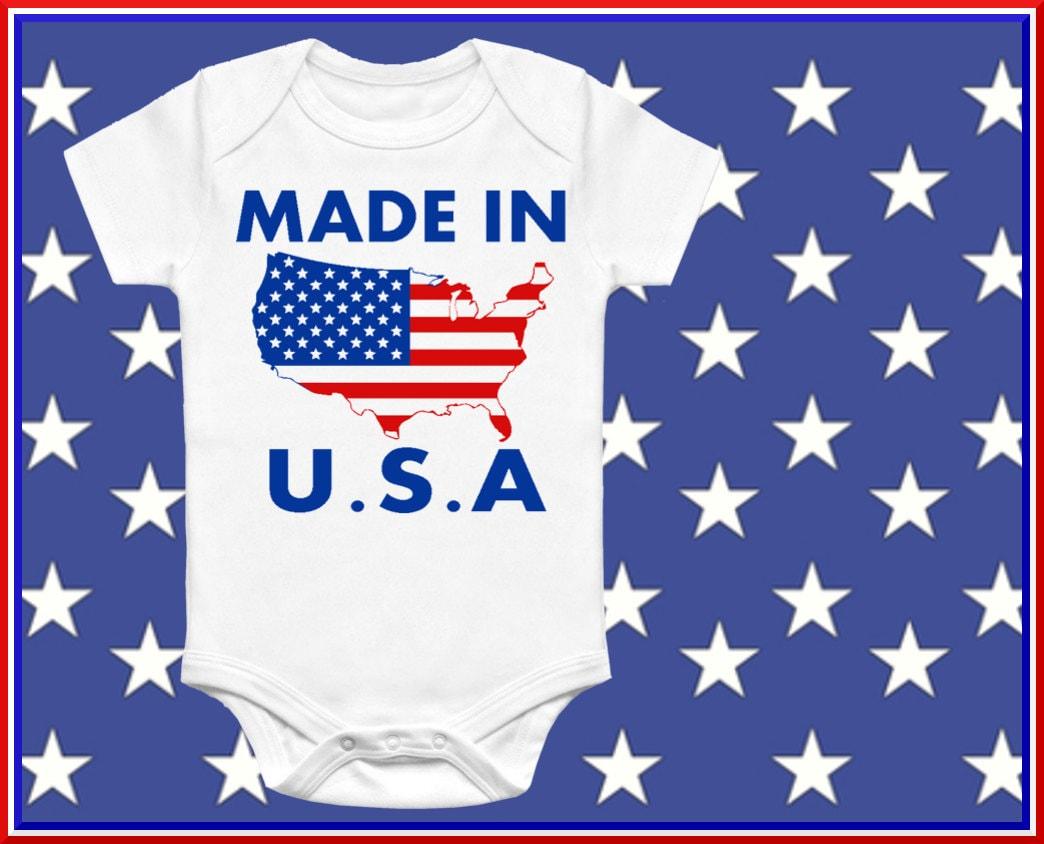 made in usa onesie baby gift onesie unisex baby clothing