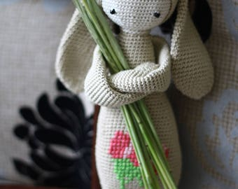 Crochet Rabbit based on Lalylala pattern/ Handmade / Crochet Doll / Bunny