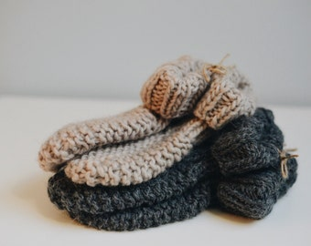 Knitted Adult Cozy Slippers