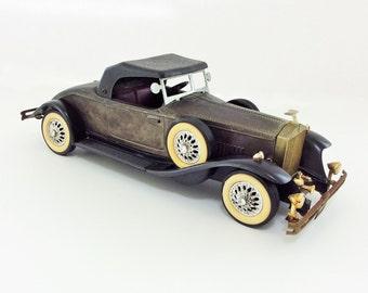 Vintage 1931 Rolls Royce Phantom II Model Car, Manufactured 1979 - 1984.
