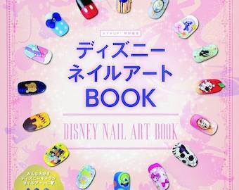 """Japanese Nail Art Book""""Disney Nail Art BOOK""""[4834772292]"""