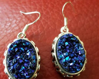 Titanium Druzy Earrings!