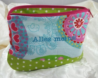"Pouch ""all mine"""