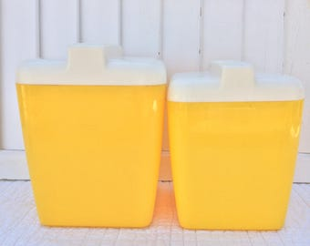 Yellow Canisters
