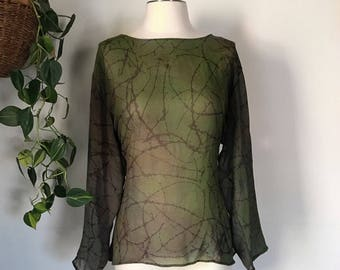Recycled Earthly Tunic