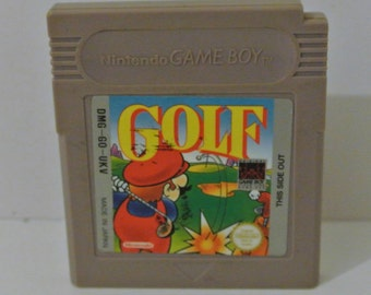Game Boy Original - Super Mario Golf