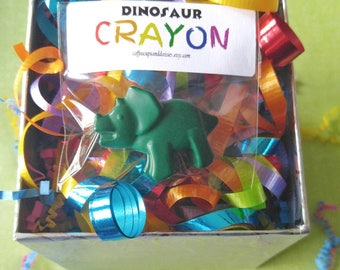 Dinosaur birthday - dinosaur party favors - kids party favors - crayons - dinosaur crayons - class exchange - goodie bag filler - dino favor