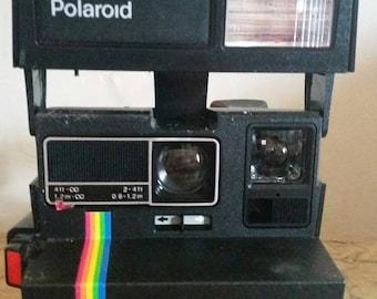 Vintage Polaroid Super Color 635 CL 116MM W/cl sliding close uplens