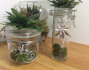 Stash Jar, air tight jar, glass jar, nug jar,