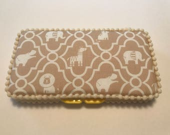 Animals baby wipe case