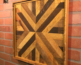 Rustic Geometric, Wall Hanging