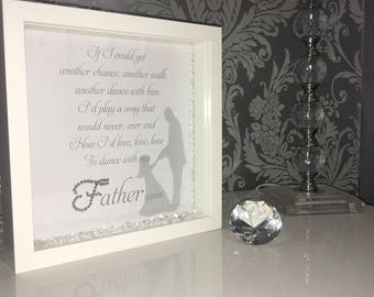 Dance with my father again crystal frame