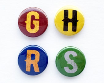 Set of 4 Flair Badges {House Pride}