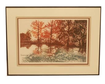 Fall Forest Print titled Repose by Truyard
