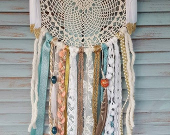 Multi-colored Bohemian Dream Catcher// boho//wedding decor//baby shower//home decor//