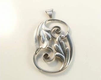 Victor Jansson silver pendant.