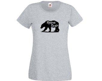 Mama Bear Top, Mommy Top, T-Shirt For Mom, Mothers Day Gift, Mothering Sunday, Baby Shower Gift, New Mom Gift, Casual T-Shirt, Gift For Mom