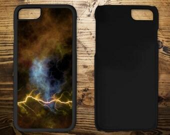 Nebula lightning, iPhone 7 case, iPhone case, iPhone 7 plus, iPhone 6/6s, iPhone 5c, iPhone 5/5s, iPhone 4/4s,