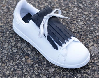 Fringed Leather for sneakers - Basic Colors