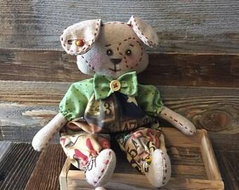 Little Spot Puppy Dog  Rag Doll