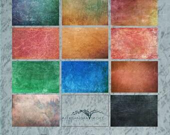 Textures Photoshop Artistic :set D, INSTANT Download