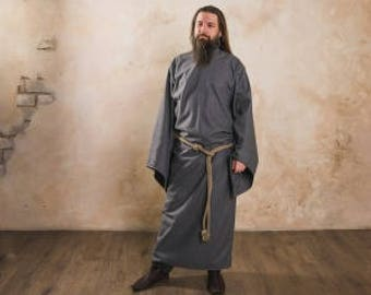 "Tunic with long sleeves, a part of fantasy-style costume ""Wizard"" by Steel Mastery™"