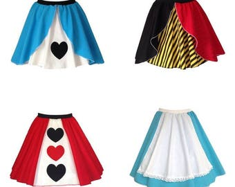 Alice In Wonderland Skirts, Costume, Alice Costume, Alice Dress, Women's Clothing