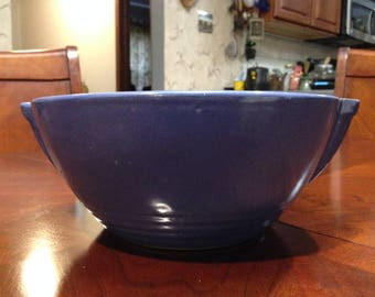 Colbalt Blue Pottery Bowl