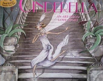 Cinderella Art Deco Love Story Book