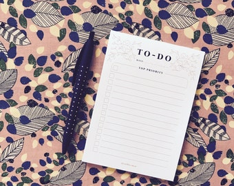 To-Do List – notepad