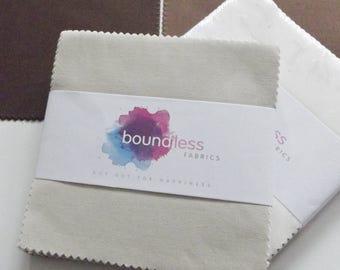 Boundless Solids Mocha Madness Precut Fabric