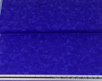 Marble Look Blue 100% Cotton High Quality Fabric Material *2 Sizes*