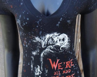 DiY Alice in Wonderland Cheshire Cat Shirt