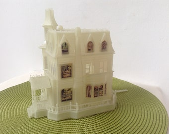 Glow in the dark Toy house from the sixties  tv show the Addams family