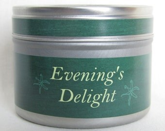 Evening's Delight Aromatherapy Candle of Eco Soya® Wax & 10 Pure Essential Oils