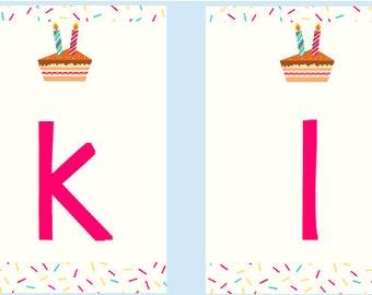 Cake Slice Banner DIY PDF