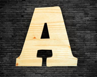 Wooden - letters
