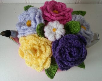 cottage flowers tea cosy