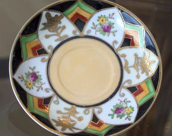 Japanese Decorative Saucers Set of 2